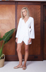 Travellers' Robe product - Tropics Wrap Dress - womens beach boho resort wear