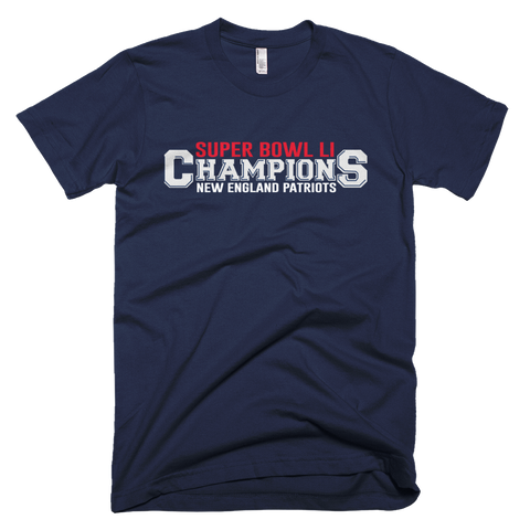 Patriots Championship Short sleeve men's t-shirt