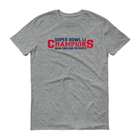SuperBowl Champions Short sleeve t-shirt