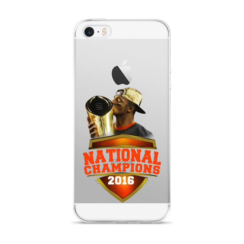 2016 National Champs iPhone 5/5s/Se, 6/6s, 6/6s Plus Case