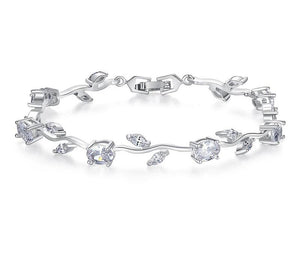 White Gold Plated Bracelet