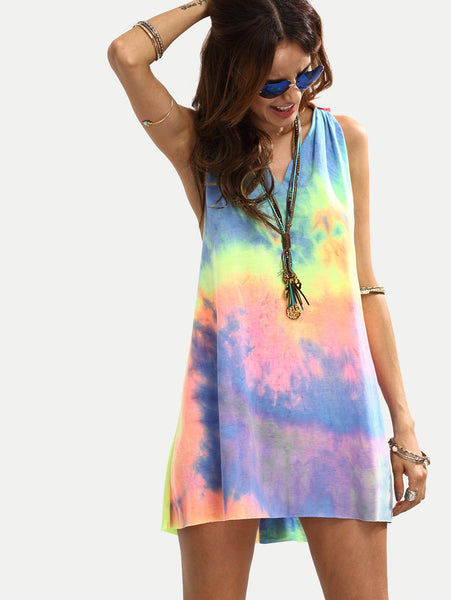 Joplin - Tie-Dye Sleeveless Dress