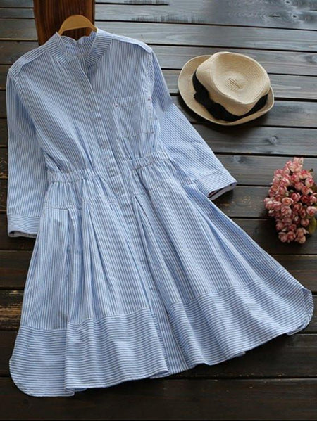 Lily™ - The Vintage Shirt Dress
