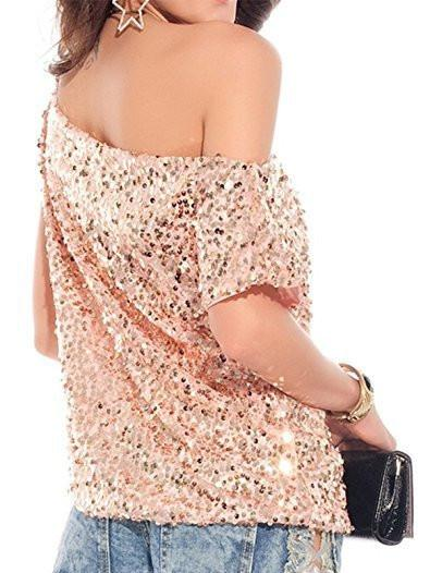 Milanese Sequin Top
