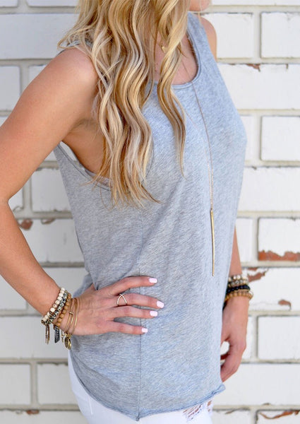 Classic Backless Blouse