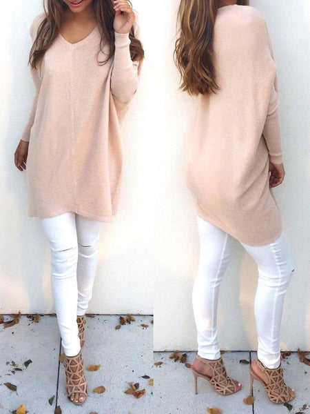 Chunky Knit Pullover Top