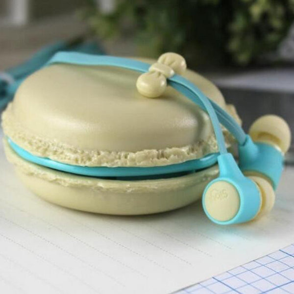 Macaroon Earphones - with Case