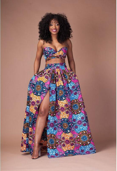 1000 Images About African Print 2 Piece Outfit On: African Print 2 Piece Set