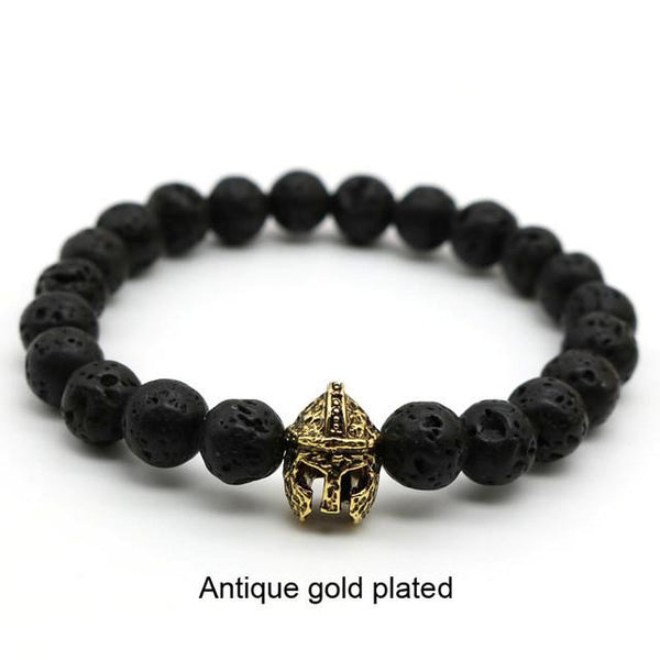 Antique Gold-Plated Gladiator Bracelet