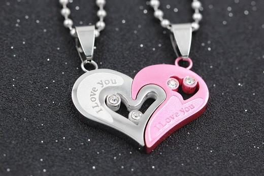 Entwined Heart Necklaces