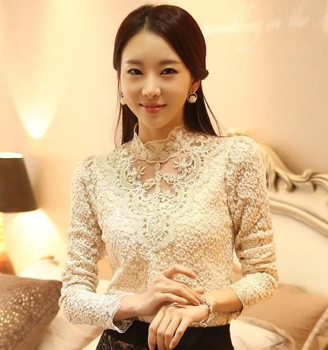 Fractal Lace Blouse