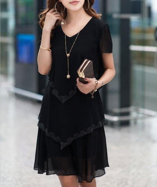 Chiffon Layer Dress
