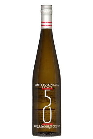 2016 50th Parallel Gewurztraminer - Kascadia Wine Merchants
