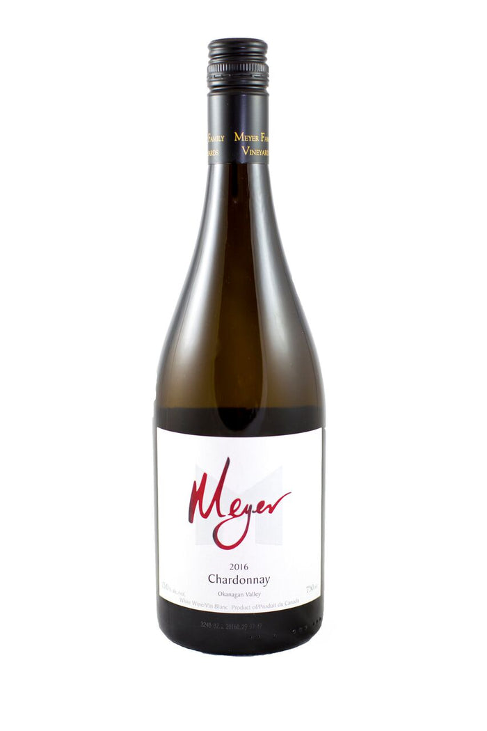 2016 Meyer Family Okanagan Valley Chardonnay - Kascadia Wine Merchants