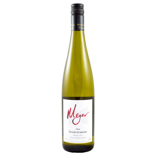 2016 Meyer Family Gewurztraminer - Kascadia Wine Merchants