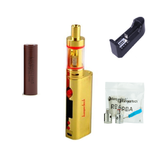 Kanger Subox Mini Starter Kit - Gold - Combo Deal Including 1 LG HG2 and 18650 Charger