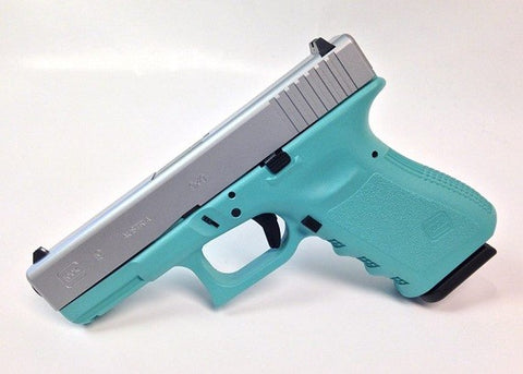 Glock 19 Tiffany Blue