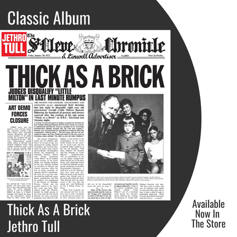 Thick As A Brick | Classic