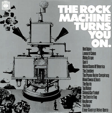 Various Artists | The Rock Machine Turns You On - CBS Records Sampler (Comp.) | Album