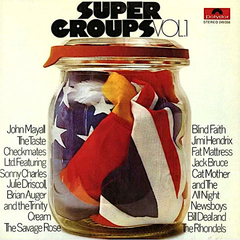 Various Artists | Super Groups - Polydor Records Sampler (Comp.) | Album
