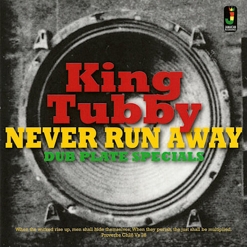 King Tubby | Never Run Away: Dub Plate Specials (Comp.) | Album
