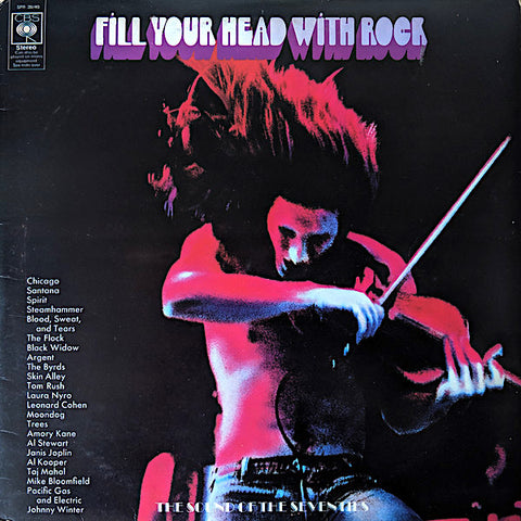 Various Artists | Fill Your Head With Rock - CBS Records Sampler (Comp.) | Album