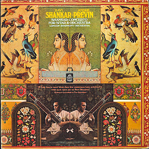 Ravi Shankar | Concerto for Sitar and Orchestra (w/ André Previn) | Album