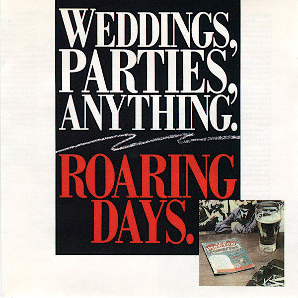 Weddings Parties Anything | Roaring Days | Album