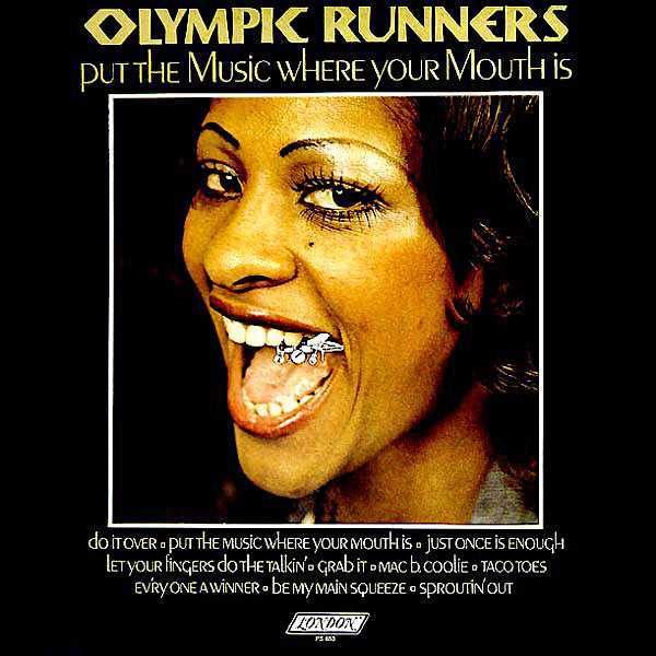 Olympic Runners | Put Your Music Where Your Mouth Is | Album