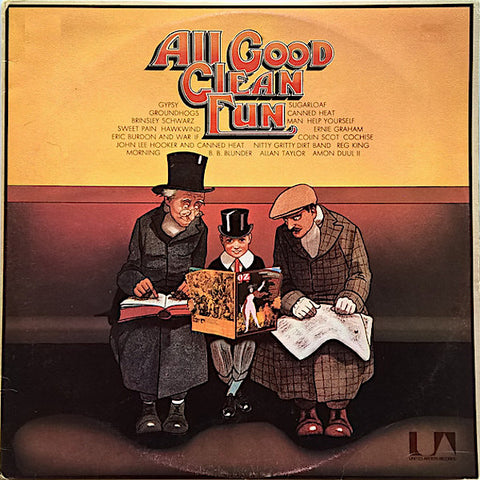 Various Artists | All Good Clean Fun - United Artists Sampler (Comp.) | Album