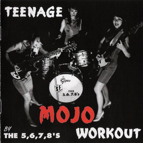 5.6.7.8's | Teenage Mojo Workout | Album-ArtRockStore