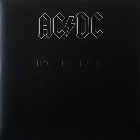 AC/DC | Back in Black | Album-ArtRockStore