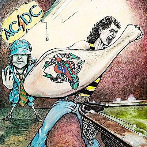 AC/DC | Dirty Deeds Done Dirt Cheap | Album-ArtRockStore