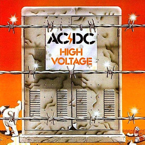 AC/DC | High Voltage | Album-ArtRockStore