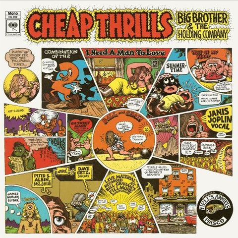 Big Brother & The Holding Company | Cheap Thrills | Album-ArtRockStore