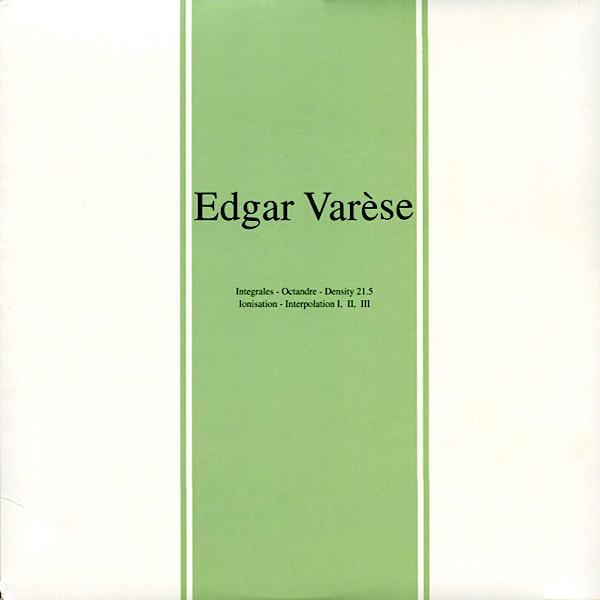 Edgard Varèse | Early Works | Album-ArtRockStore