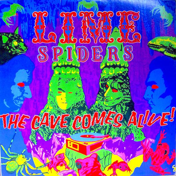 Lime Spiders | The Cave Comes Alive | Album-ArtRockStore