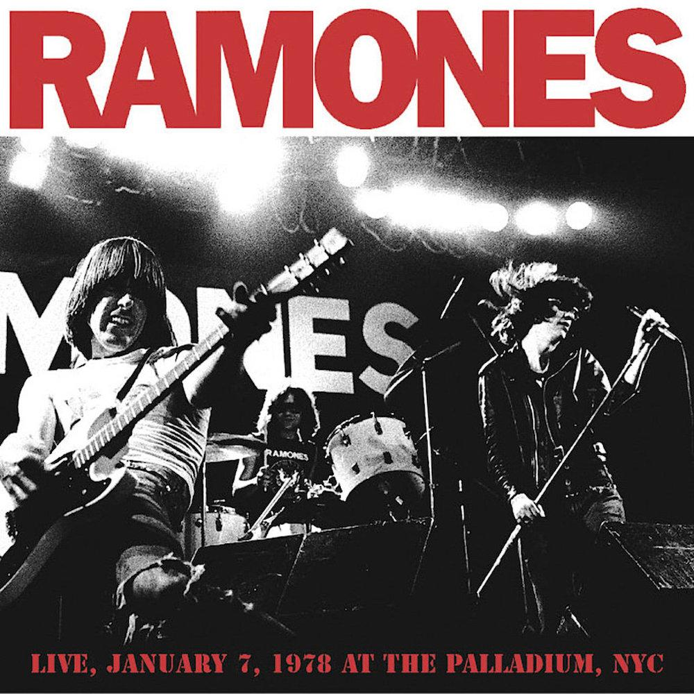 Ramones | Live January 7 1978 at The Palladium NYC | Album-ArtRockStore