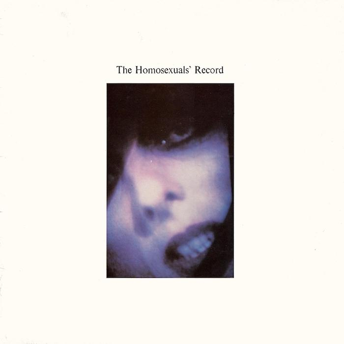 The Homosexuals | The Homosexuals' Record (Comp.) | Album-ArtRockStore