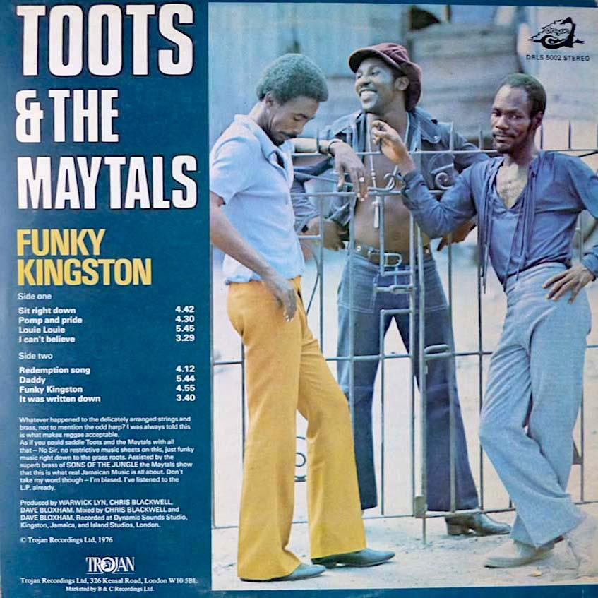 Toots & The Maytals | Funky Kingston | Album-ArtRockStore