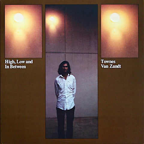 Townes Van Zandt | High Low and In Between | Album-ArtRockStore