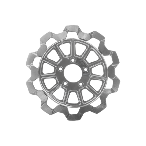 Bow-Tie Cut 11-Spoke Rotor