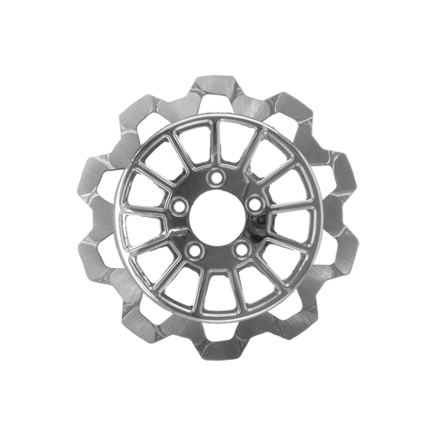 Bow-Tie Cut 13-Spoke Rotor