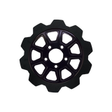 Crown Cut 9-Spoke Rotor