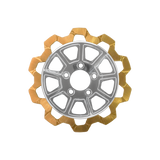 Bow-Tie Cut 9-Spoke Rotor