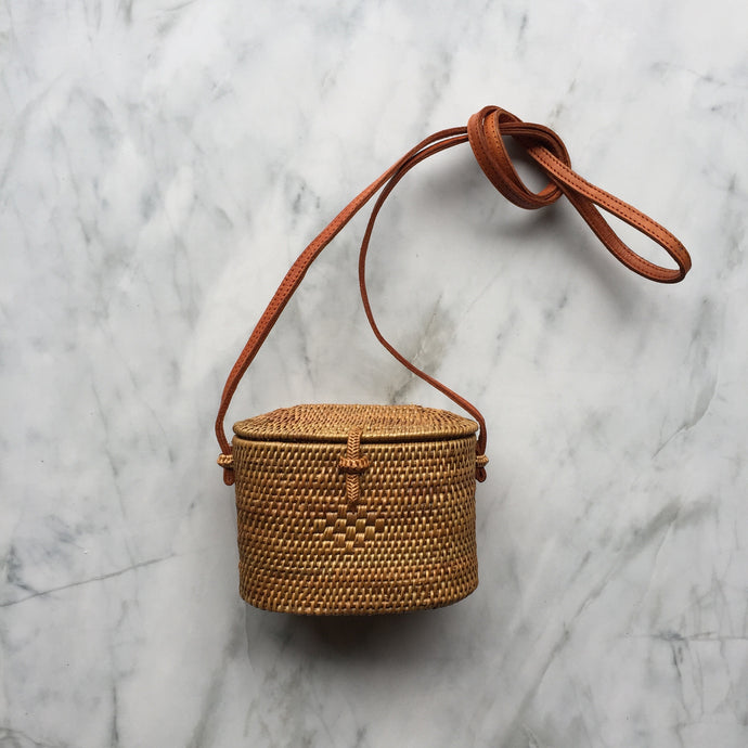 Handwoven Box Bag - Small