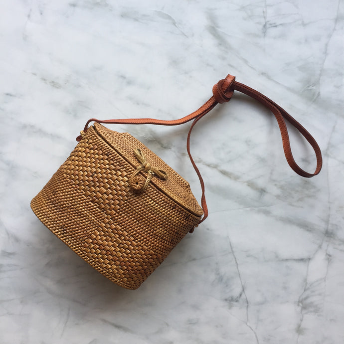 Handwoven Box Bag - Large