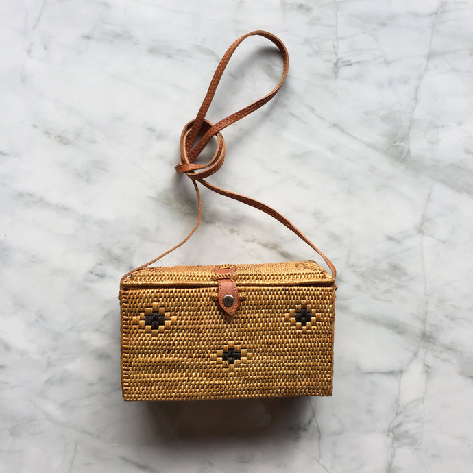 Handwoven Box Bag - Rectangular