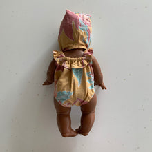 Doll Bodysuit with Bonnet
