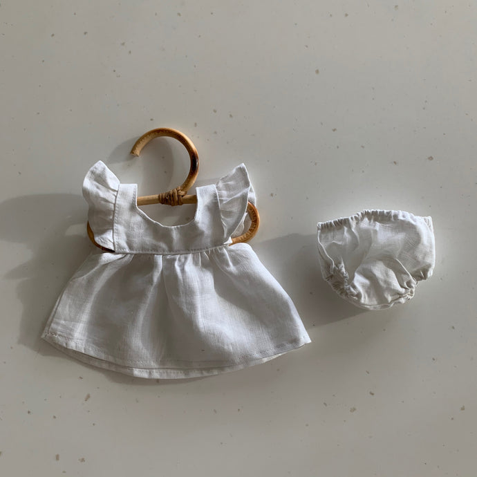 Doll Dress with Bloomers